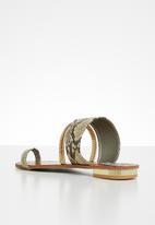 Madison® - Ashlyn Snakeskin sandal - multi