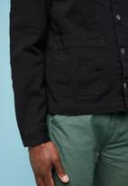 Superbalist - Denim worker jacket - black