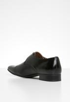 Gino Paoli - Lucas monk strap shoe - black