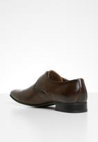 Gino Paoli - Lucas monk strap shoe - brown