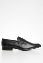 Gino Paoli - Marco slip-on loafer - black