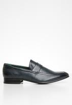 Gino Paoli - Marco slip-on loafer - navy