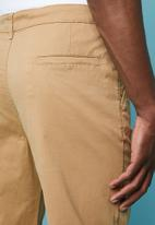 Superbalist - Wide leg chino - beige