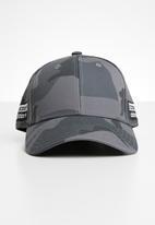 adidas Originals - Camo baseball - black & grey