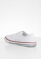 Converse - Chuck Taylor All Star dainty low top sneakers - white