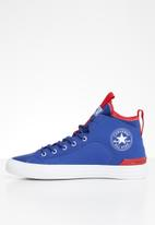 Converse - Chuck Taylor All Star ultra cons force sneaker - blue/enamel red/white