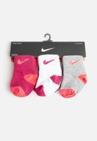 Nike - Logo pack toddler socks - multi