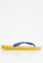 Havaianas - Brazil - yellow & blue