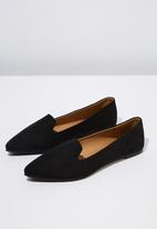 Cotton On - Faux suede slipper - black