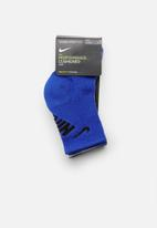 Nike - Nike crew cushioned 3 pack socks - multi