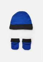 Nike - Nike futura hat and bootie set - blue & black
