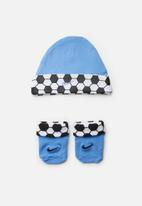 Nike - Nike futura sport hat and bootie - blue