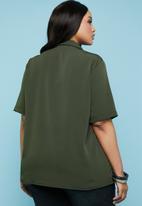 Superbalist - Revere collar shirt - khaki