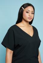 Superbalist - Back detail blouse - black