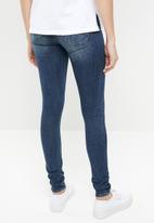 G-Star RAW - Lynn mid super skinny jeans - blue