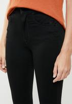 G-Star RAW - Citi-You high super skinny jeans - black