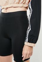 adidas Originals - Cropped sweat - beige & black