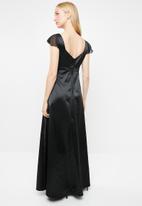 AMANDA LAIRD CHERRY - Viola maxi dress - black