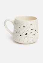 Urchin Art - Lifie mug - black speckle