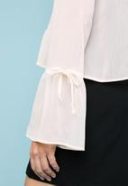 Superbalist - Button-through gypsy blouse - cream