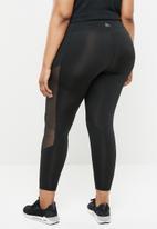 Reebok - Studio mesh tights - black