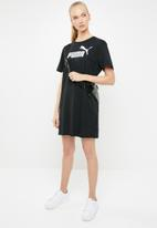PUMA - Essentials logo tee dress - black