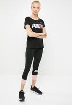 PUMA - Modern sports graphic tee - black