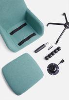 Basics - Anna office chair – teal