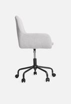 Basics - Anna office chair - medium grey