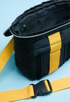 Superbalist - Dax waistbag - black & yellow