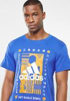 adidas Performance - Adi international short sleeve tee - multi