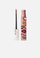 Maybelline - Ashley Longshore superstay matte ink liquid lipstick - 05 loyal