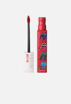 Maybelline - Ashley Longshore superstay matte ink liquid lipstick - 20 pioneer