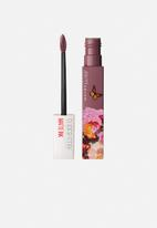 Maybelline - Ashley Longshore superstay matte ink liquid lipstick - 95 visionnary