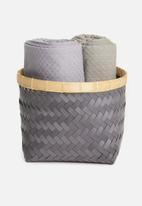 H&S - Zinzi basket - black