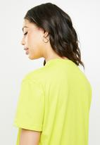 Missguided - Basic T-shirt dress - green