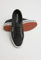 SUPERGA - 2750 Canvas logo - black & white