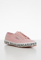 SUPERGA - 2750 Canvas logo - pink smoke