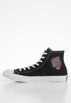 Converse - Chuck Taylor All Star - black/enamel red