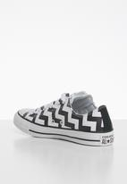 Converse - Chuck Taylor All Star glam dunk - white/black/white