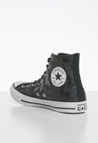 Converse - Chuck Taylor All Star glam dunk - black/almost black/white