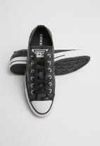 Converse - Chuck Taylor All Star glam dunk - black/white/black