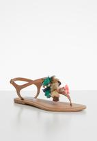 Steve Madden - Hydro leather sandal - tan