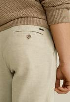 MANGO - Octopus trousers - beige