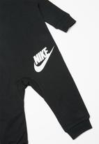 Nike - Chevron coverall - black & grey