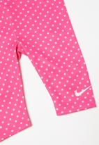 Nike - Tunic & capri set - grey & pink