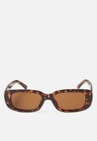 Cotton On - Abby sunglasses - brown