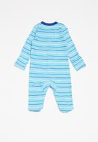 Nike - Stripe footed coverall - blue