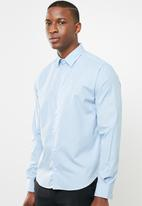 Pringle of Scotland - Mcneill styled shirt - blue