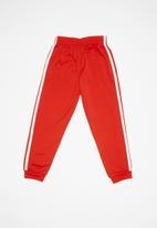 adidas Originals - Superstar pants - red & white